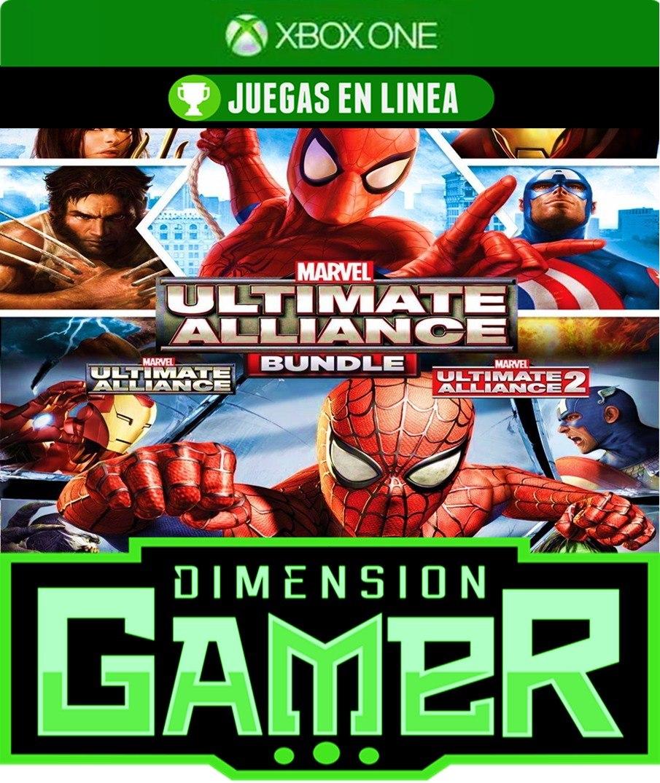 Marvel Ultimate Alliance 1 & 2 Xbox One - N Codigo - S/ 125,00