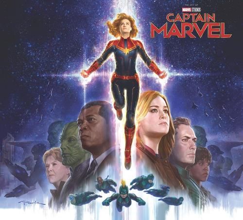 marvel's captain marvel: the art of the movie - livro novo