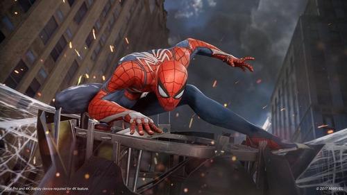 marvels spider man ps4 mídia física pronta entrega + brinde