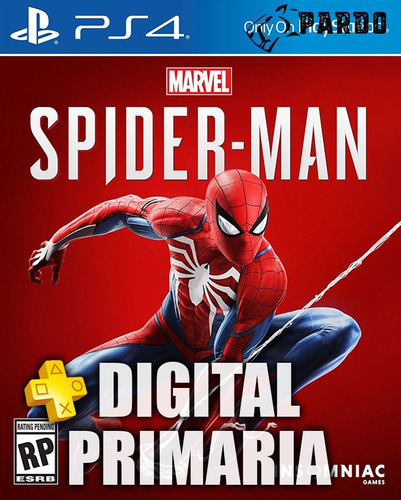 marvel's spiderman + plus - ps4 digital - pardo