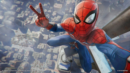 marvel's spiderman spider man ps4 sellado delivery stock ya