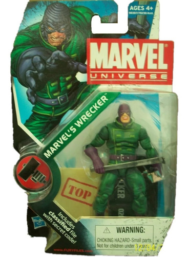 marvel´s wrecker no.20 marvel universe serie 2