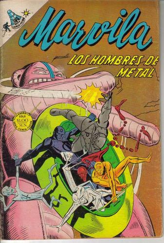 marvila (la mujer maravilla) presenta: los hombres de metal.