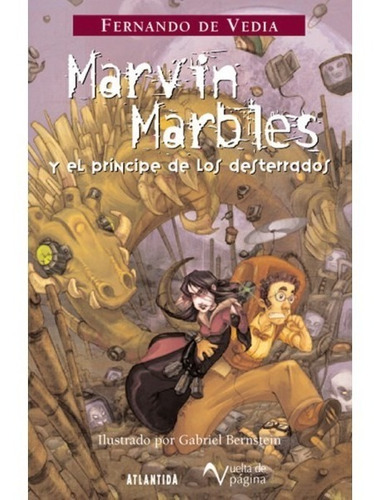 marvin marbles 1 con dedicatoria del autor para vos