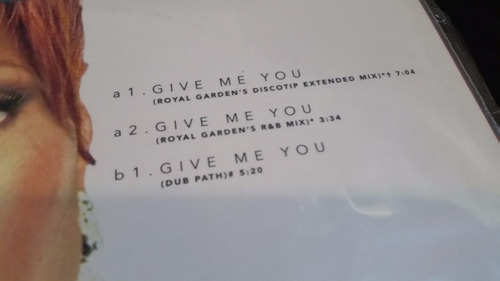 mary j blige give me you vinilo maxi recontra fino house
