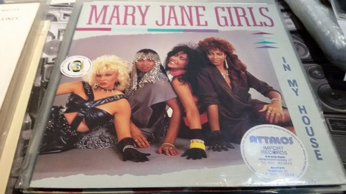 mary jane girls in my house vinilo maxi impecable con tapa