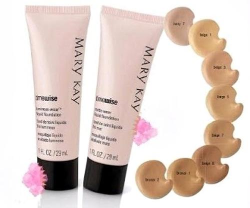 mary kay base de maquillaje fluída antiedad envio 20 % desc