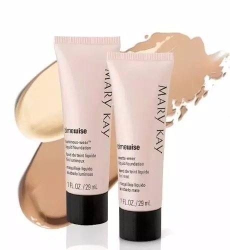 mary kay kit anti idade timewise (4 produtos ) + base