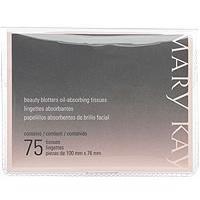 mary kay - lenços de papel antibrilho da pele