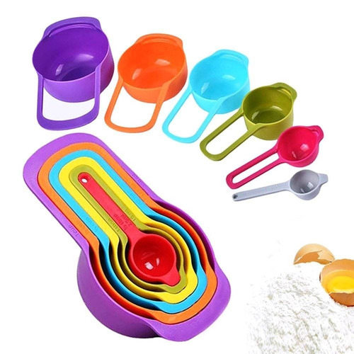 mary paxton12 6pcs cucharas de medida de plás + envio gratis