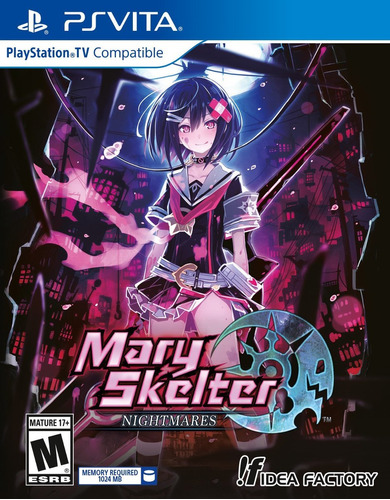 mary skelter nightmares psvita - sellado*