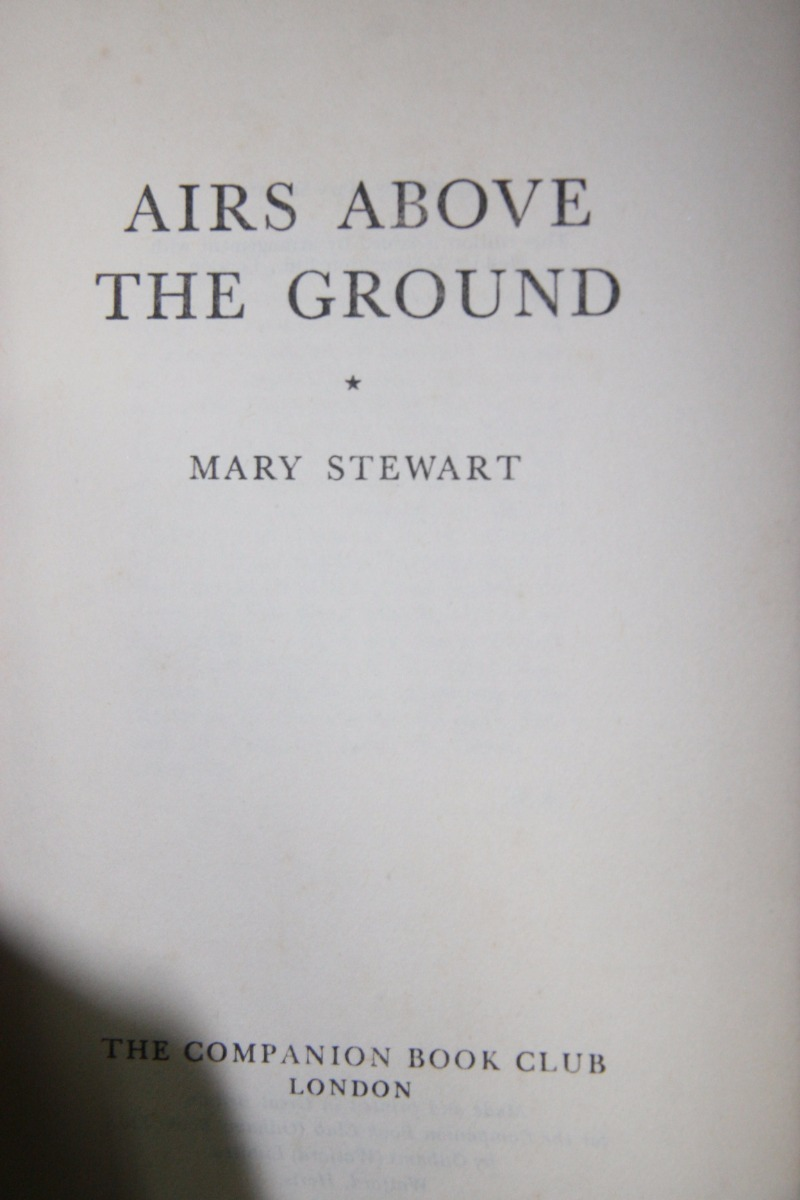 airs above the ground stewart mary