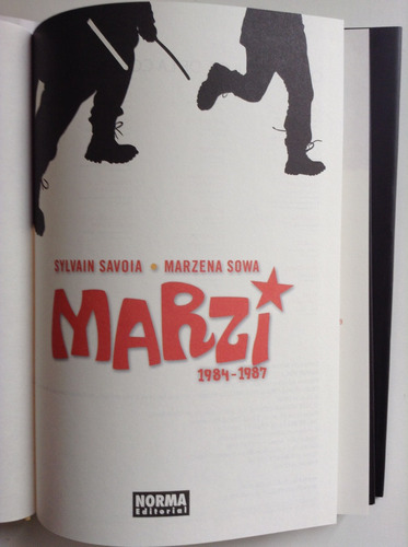 marzi 1984-1987 la polonia comunista vista desde los ojos de
