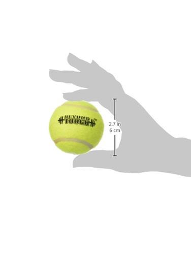 más allá de ética dura pelota de tenis, 2-1 / 2 pulgadas, 2-