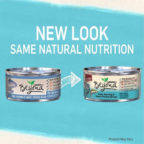 más allá de purina chunk natural en salsa gato mojado comida