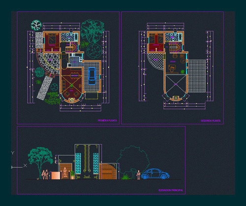más de 1000 diseños en autocad totalmente editables