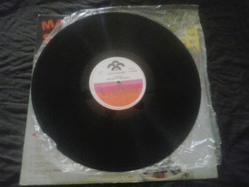 mas soca al merengue - disco de vinil. ritmo tropical
