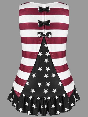 más tamaño patriotismo volantes americano bandera tanque s