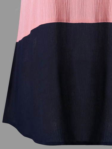 más tamaño tapa manga arrugarse blusa moda