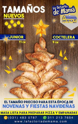 masa lista para hacer empanadas la factoría de mama