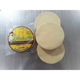 Masa Pasta Para Empanadas Nicoletta 15 Cms 600 Grs