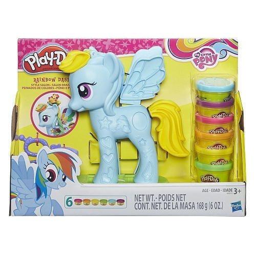 Little Rainbow Hasbro999 00 Masa Play Dash Doh Pony Original My MpGjzqSULV