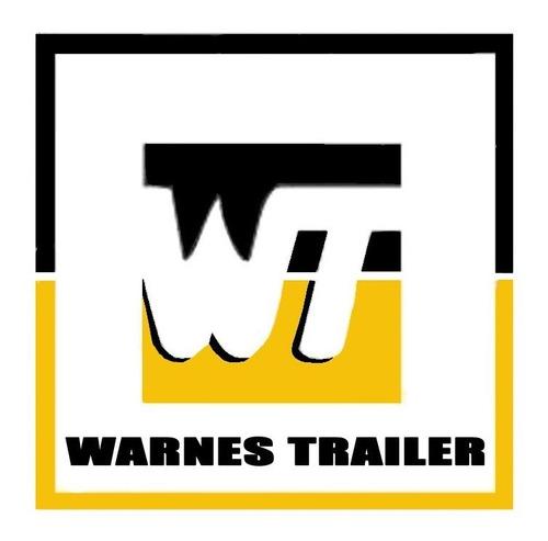 masa punta trailer 650 kg fiat vw  renault chev env gratis
