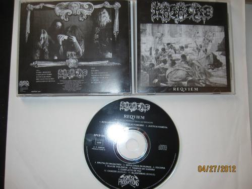 masacre cd requiem osmose new edition