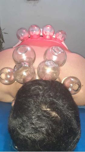 masaje con ventosa - ventosaterapia- ventosa- terapia s.l