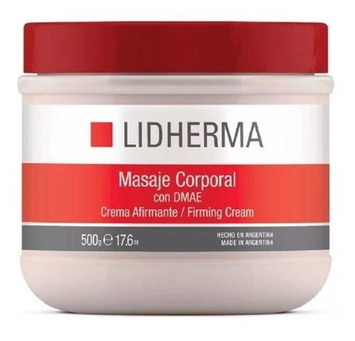 masaje corporal con dmae tensora afirmante crema 500gr
