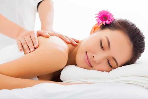 masaje cuerpo completo para mujeres (discreto)