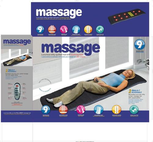 masaje cuerpo masajeador