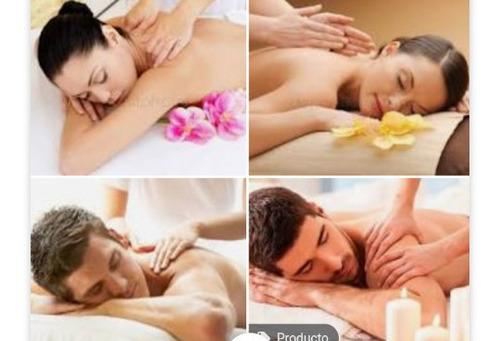 masaje de relajación y mascarillas faciales.