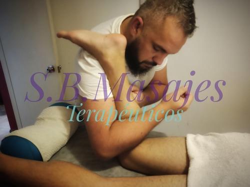 masaje descontracturante o relajante en consultorio. ($700)