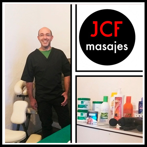 masaje descontracturante terapéutico - consultorio