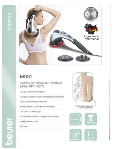 masaje infrarrojos tipo metal con regalo un gel cool sport