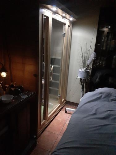 masaje mas sauna