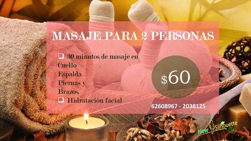 masaje para 2 personas