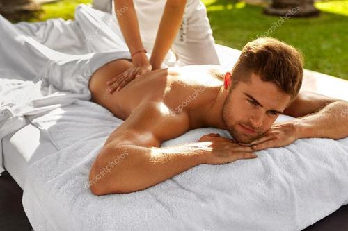 masaje para caballeros impartido por hombre