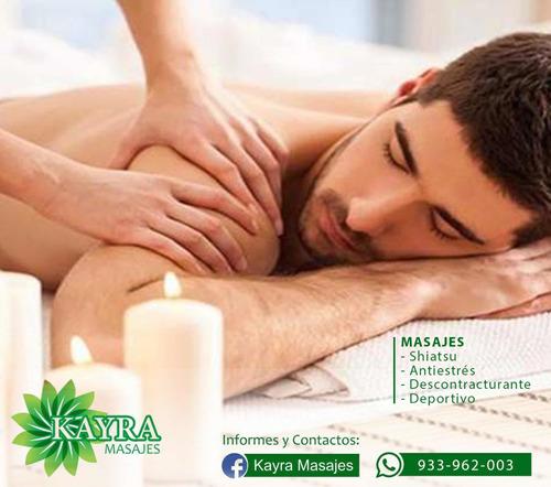 masaje profesional a domicilio