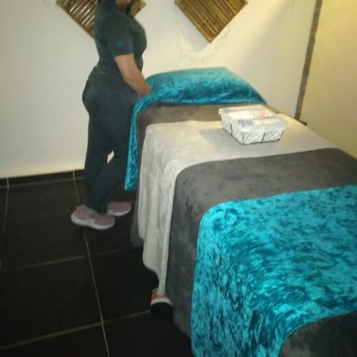 masaje profesional  sede  o domicilio en manos de terapeutas