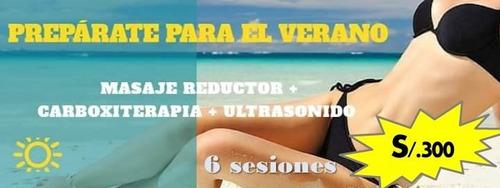 masaje reductor + drenaje linfático+ co2 carboxiterapia