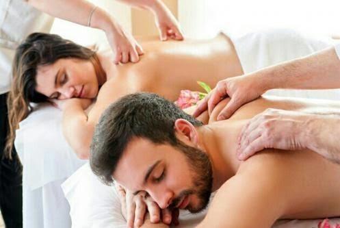 masaje relajante y desestresante.