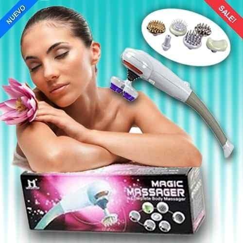 masajeador 8 en 1 c/infrarojo, anticelulitico,estres+deliver