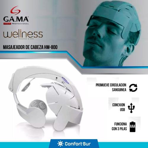 masajeador cabeza compacto hm800 conexión usb gama **12