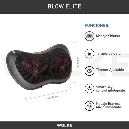 masajeador cervical lumbar pies calor gtia + rodillos wolke!