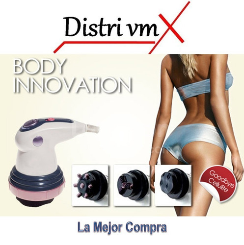 masajeador con infrarrojo body innovation reduce, tonifica +