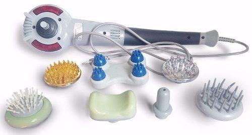 masajeador corporal eléctrico profesional, 7 en 1, vibración