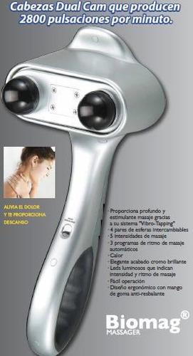 masajeador corporal titanium con 2 cabezas envio gratis!