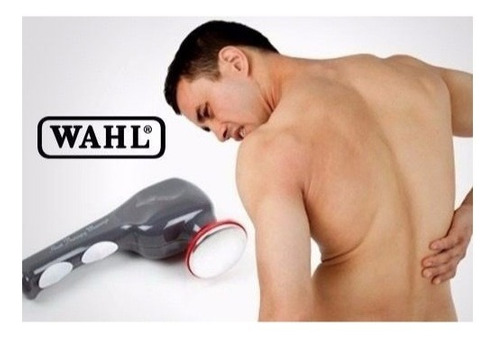 masajeador corporal wahl infrarrojo 4 cabezales calor